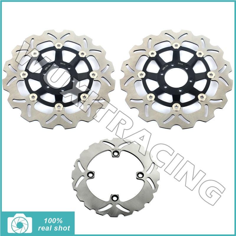 90 91 92 93 94 95 96 97 98 99 Full New set Front Rear Brake Disc Rotor for Honda CBR 250 RR CBR250RR L,N,R- MC22