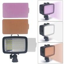 Mcoplus 60pcs 1800LM Underwater Lamp Waterproof Video LED Light for GoPro Hero 4 3 SJCAM SJ4000 Xiaomi Sports Action Camera