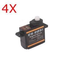 4Pcs Emax ES9051 Digital Mini Servo Motor For RC Model