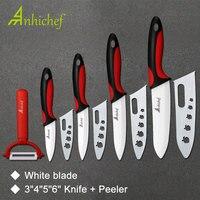 Kitchen Knife Ceramic Knife Cooking Set 3 4 5 6 Inch Peeler White Blade Paring Fruit