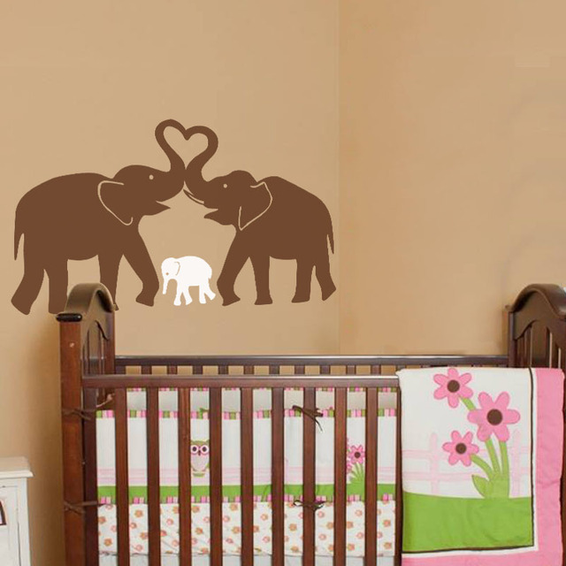 quote nursery wall quotes baby sticker elephant mural decal decals room vinyl art ebay disney bhp dumbo decor