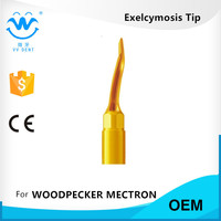 3 PCS UC1R MECTRON:EX2 RIGHT ANGLED DENTAL EXTRACTION TIP FOR PIEZOSURGERY LOW tooth extraction cost AND dental implant costs