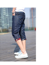 jeans short denim bermudas hombre jeans 2015 mens fashion jeans7 minutes students boy men short pants free ship