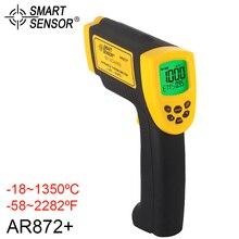 SMART SENSOR IR Laser Digital Infrared Thermometer -18 1350C AR872+ Handheld LCD Non-contact Digital Temperature Meter