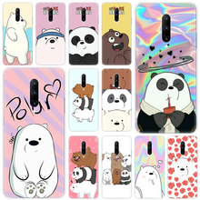 Hot Cute Cartoon we are bears Soft Silicone Fashion Transparent Case For OnePlus 7 Pro 5G 6 6T 5 5T 3 3T TPU Cover