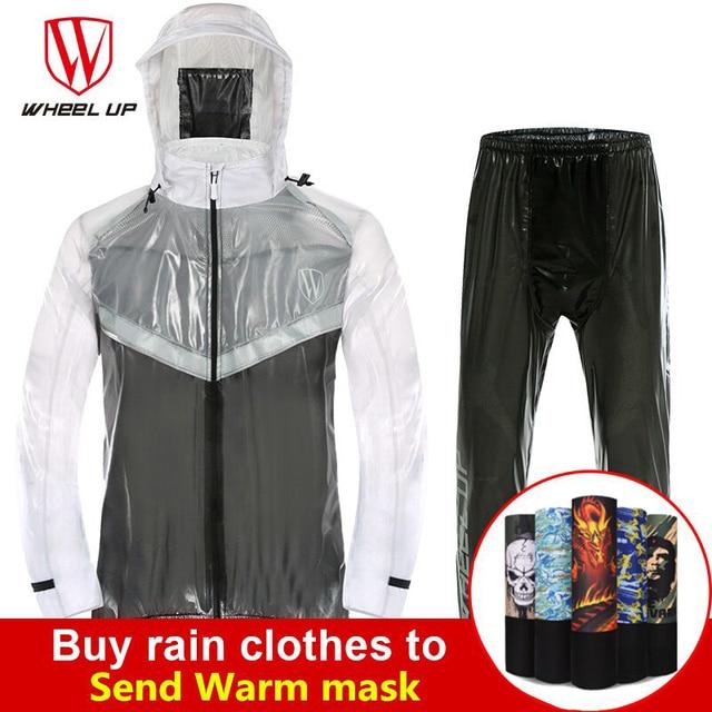 d7095530fcf Waterproof Cycling Jersey MTB Bike Riding Motorcycle Bike Jersey Anti-Sweat  Reflective Men Ultralight Cycling Clothing Raincoat