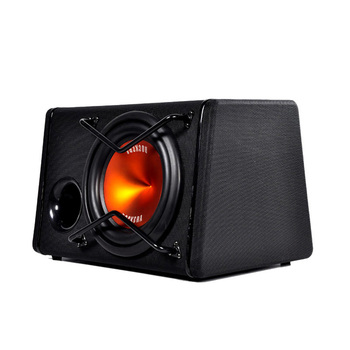 Subwoofer car audio active car bass woofer 280W High Power 8 inch car audio Speakers subwoofer
