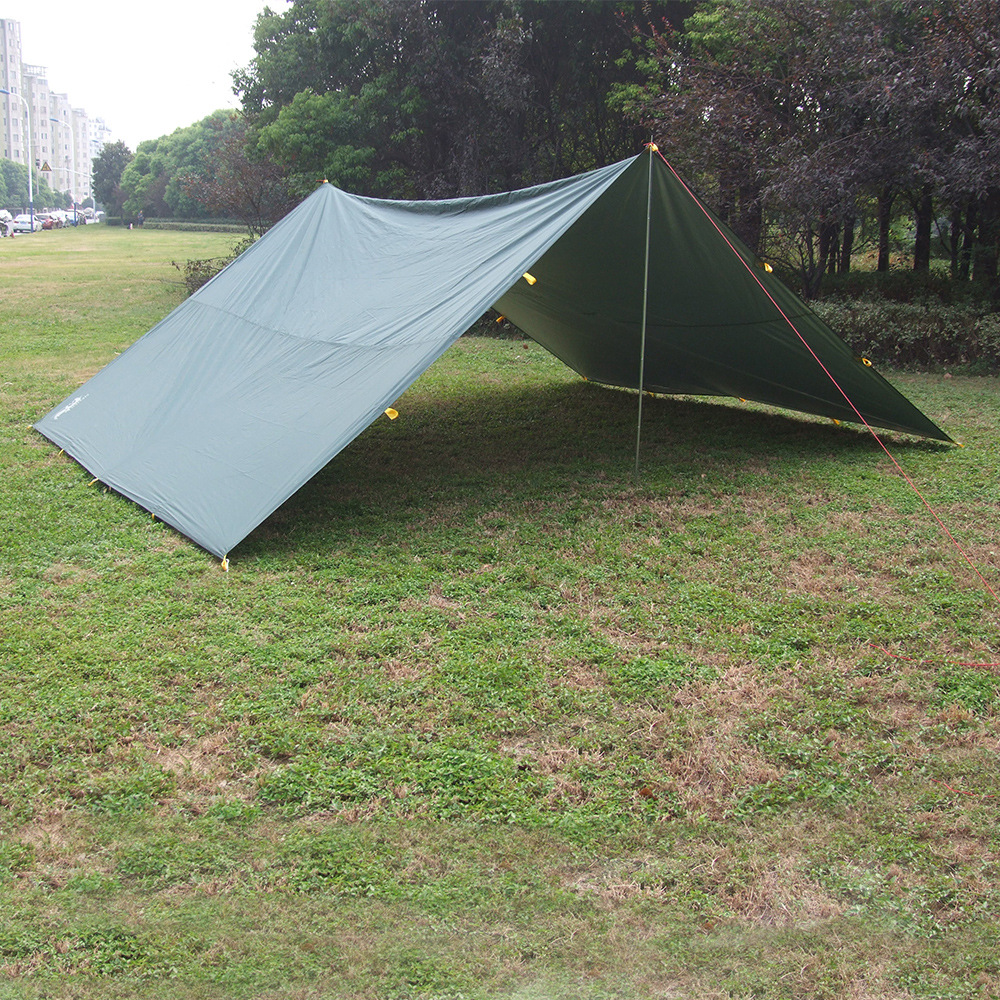 Wnnideo Portable Outdoor Waterproof Foldable Oxford Cloth Tent Tarp Tent Shelter Sun Shade For Beach Picnic C&ing Fishing-in Tents from Sports ... & Wnnideo Portable Outdoor Waterproof Foldable Oxford Cloth Tent ...