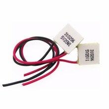 Термоэлектрический охладитель Пельтье, 03103, 03104, mini, 15*15 мм, 3V2A, высокая эффективность, модуль элемента Пельтье
