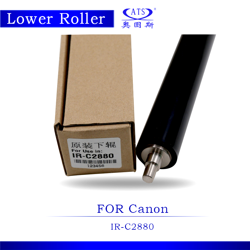 1PCS Photocopy Machine IRC2880 Original Lower Fuser Roller For IRC 2880 Pressure Roller Copier Spare Parts photocopy machine pressure roller for canon irc3200 irc3220 irc3100 lower roller fuser roller copier parts 3200 3220 3100