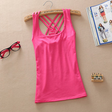 Sleeveless Fashion Basic Tops