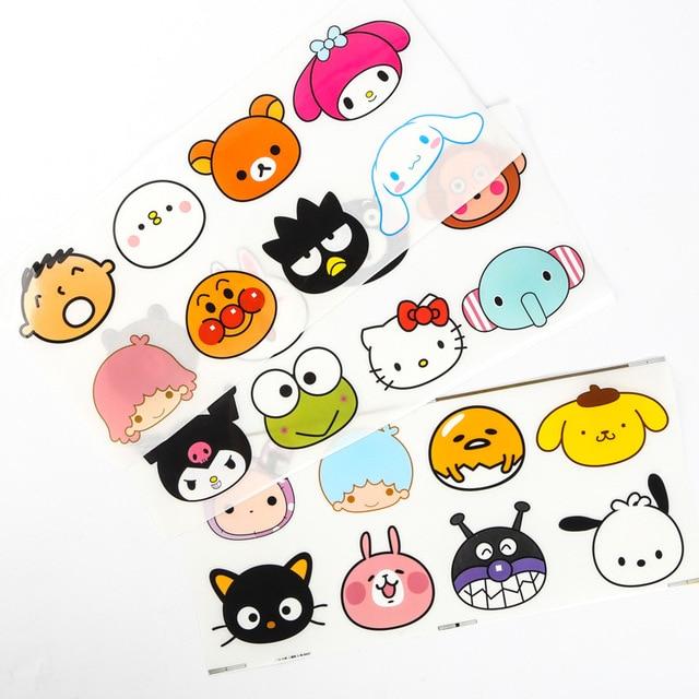 10 sets sanrio figures hello kitty rilakkuma gudetama