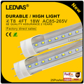 LEDVAS 4f T8 18W Led Tube 120cm 1.2m High quality led fluorescent SMD2835 PF>0.9 110-220V factory outlets 2 Year Warranty#25x