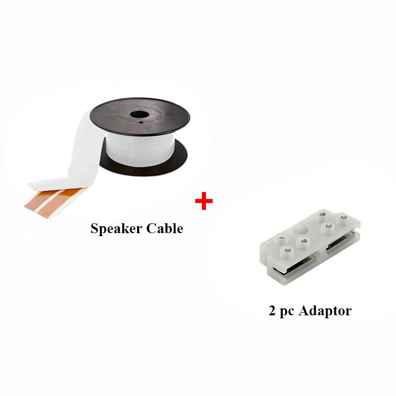 Vancord Super OFC CU Flat Adhesive Speaker Cable Wire Indoor Outdoor ...