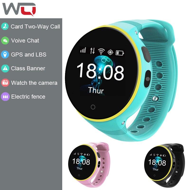 WQ S668a enfants montre intelligente enfants Smartwatch enfants GPS montre Double appel SOS appel d'urgence clôture électronique enfants montre intelligente