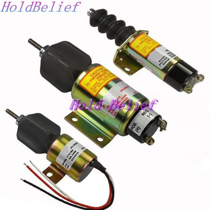 Stop solenoid 1700-1508 1751ES-12E2UC3B1S1 shutdown engine for WoodwardStop solenoid 1700-1508 1751ES-12E2UC3B1S1 shutdown engine for Woodward