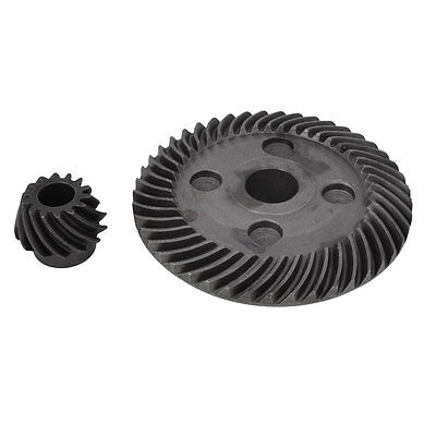 80mm Spiral Bevel Gear 26.5mm Pinion Set for Hitachi 180 Angle Grinder electric power tool hand drill 44mmx14 5mm bevel gear pinion set for dragon 04 10a