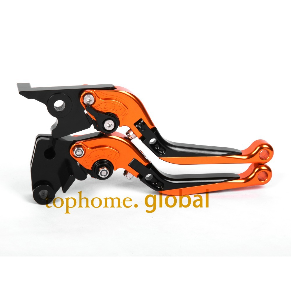CNC Folding&Extending Brake Clutch Levers For Moto guzzi GRISO 850 1100 1200 8V 2006-2009 Orange&Blac Motorcycle Accessories adjustable cnc aluminum clutch brake levers with regulators for moto guzzi breva 1100 2006 2012 1200 sport 07 08 09 10 11 12 13