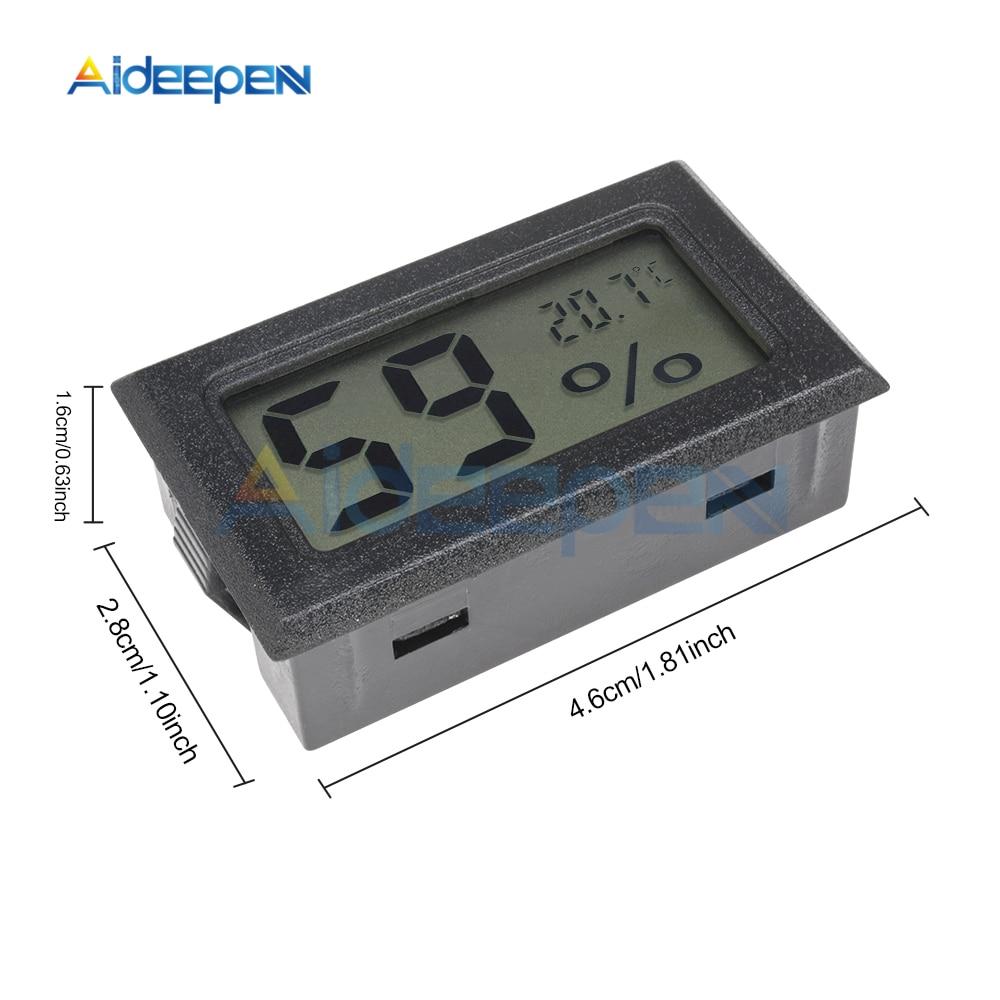 LCD Digital Thermometer Hygrometer for Freezer Refrigerator Fridge Temperature Sensor Humidity Meter Gauge Instruments Cable 21