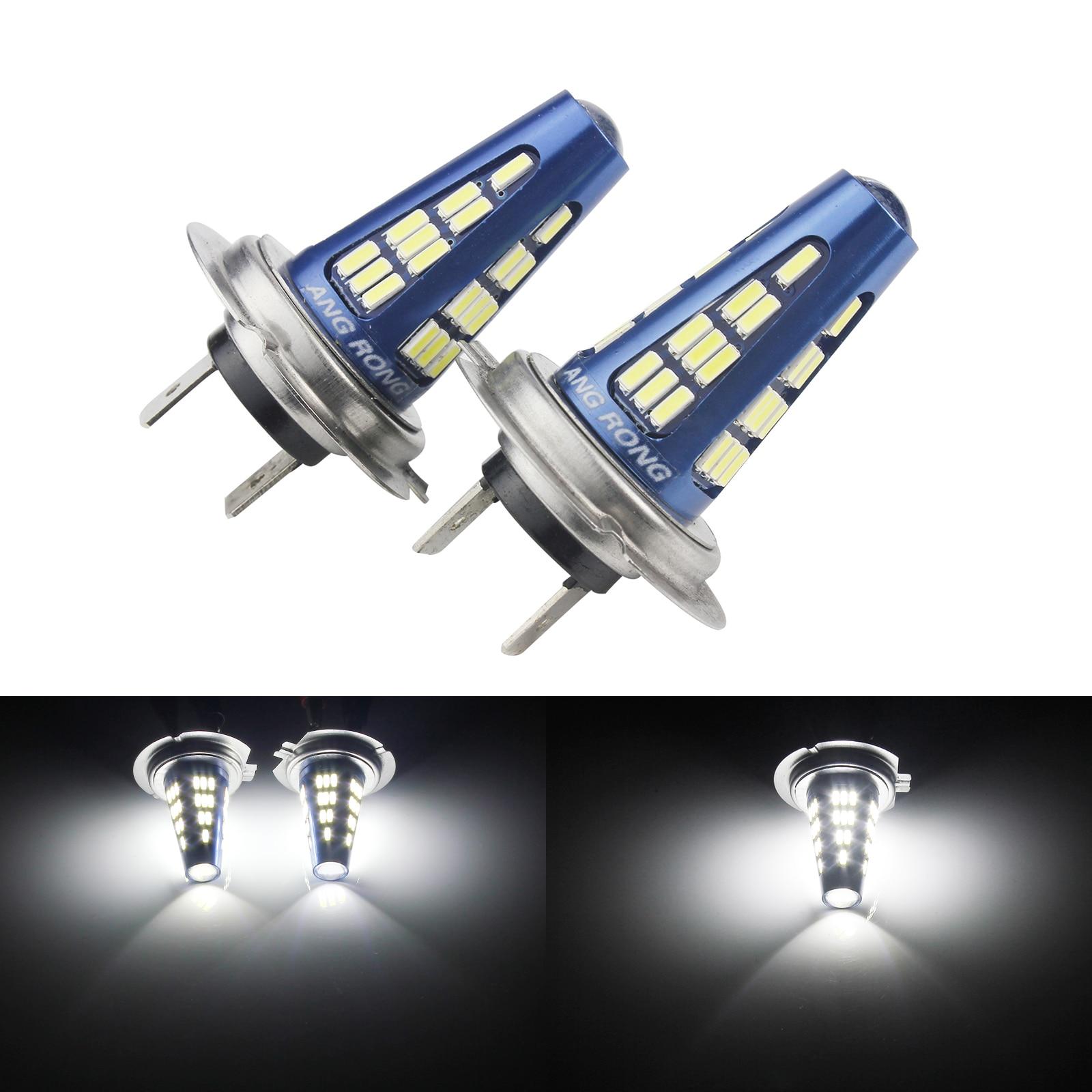 Fits Kia Pride White LED /'Trade/' Wide Angle Side Light Beam Bulbs Pair Upgrade