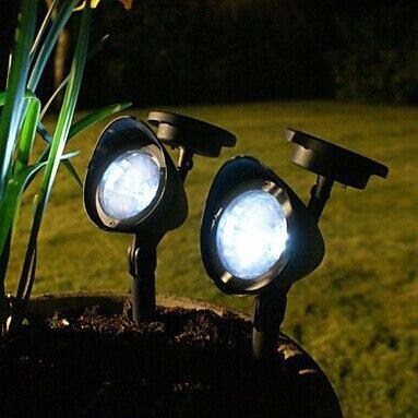 Led Luminaria Solar Luces Para Jardin Lamparas La Energia Solar Del - Luminarias-para-jardin