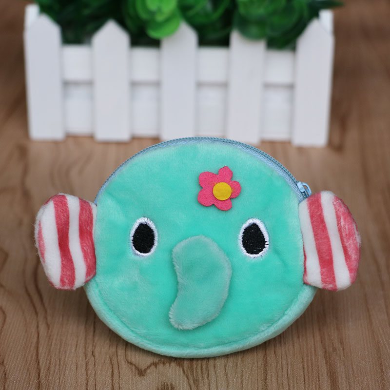 2pcslot kids birthday party decoration baby shower return gift cute elephant coin bag party