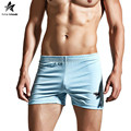 2017 Underwear Men Boxer Solid Mens Boxers Rhinoceros Print Fashion Home Shorts Pants Soft Comfortabletable Brand Clothing LW431