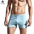 2017 mens boxers underwear men boxer sólido comfortabletable marca rhinoceros imprimir moda inicio pantalones cortos suave ropa lw431