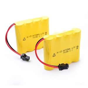 GTF 1PCS 4.8V 700mAh Nickel cadmium battery pack AA Battery for Remote Control Car(China)