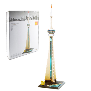Image 2 - Wange 5210 serie de arquitectura el Notre Dame de modelo París juego de bloques de construcción punto de referencia clásico juguetes educativos para niños