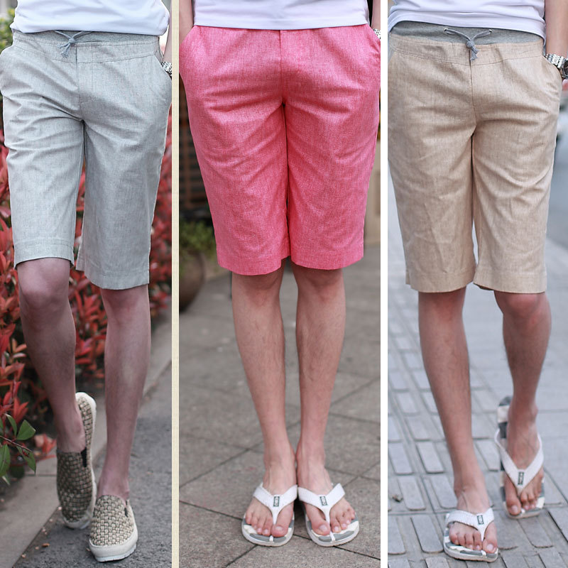 shorts men 2015 summer fashion new men's light weight breathable ...