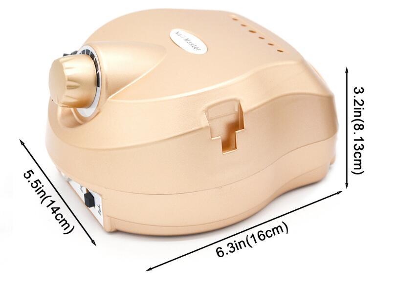 Сверлильный станок электрический сверлильный станок для удаления ногтей фрезерные инструменты маникюрный педикюр набор пилок для ногтей ручка наконечник набор для ногтей - 2