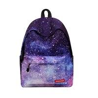 Hot The New Starry Sky Backpack Shoulders Bag Wear Resistant Breathable Burden Student Schoolbag For Girls