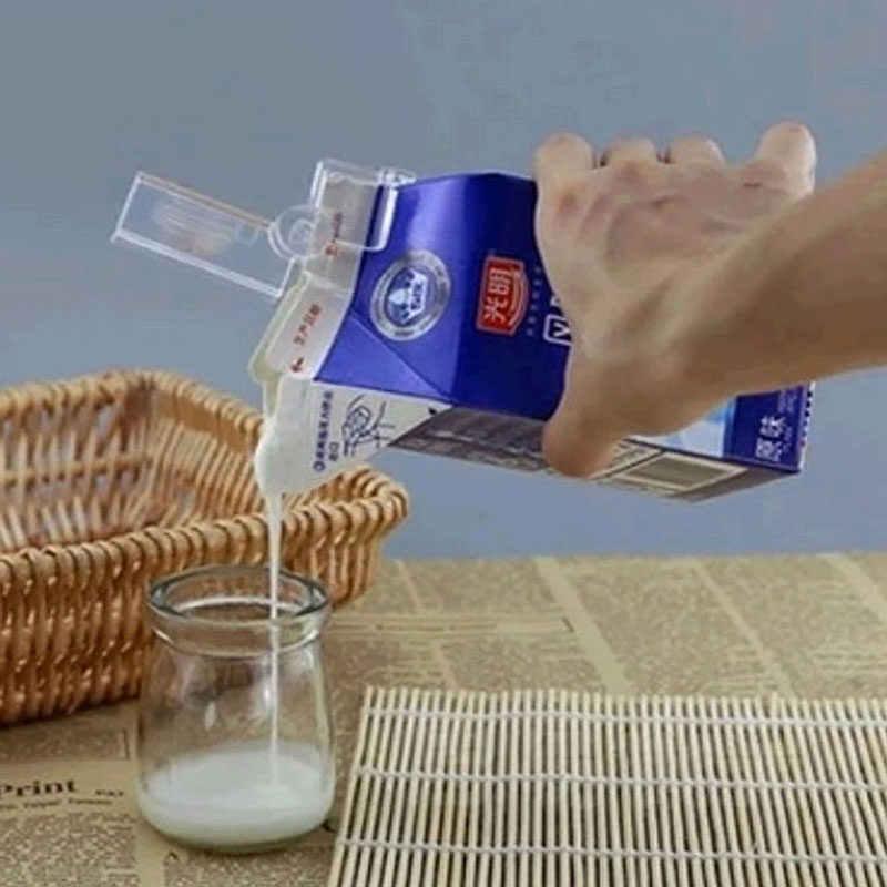 2Pcs Milk Bottle Seal Clip Multifunctional Snacks Sealed Clips Keeping Food Fresh Box Sealed Folder Carton Packed Sealing Clip