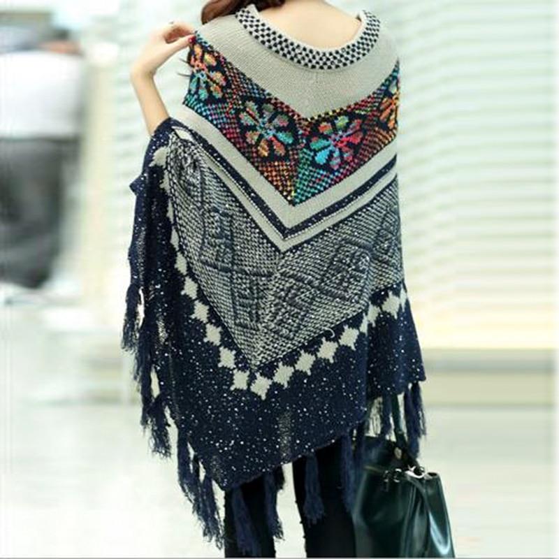 Весной и осенью мода Pull пуловер - Женская одежда - Фотография 6
