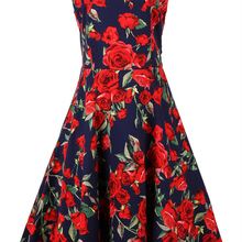 ca59d7f137d6 Dress online retro inspired UK dress floral novelty clothing xxxl 50 s  rockabilly pinup sash femme robe
