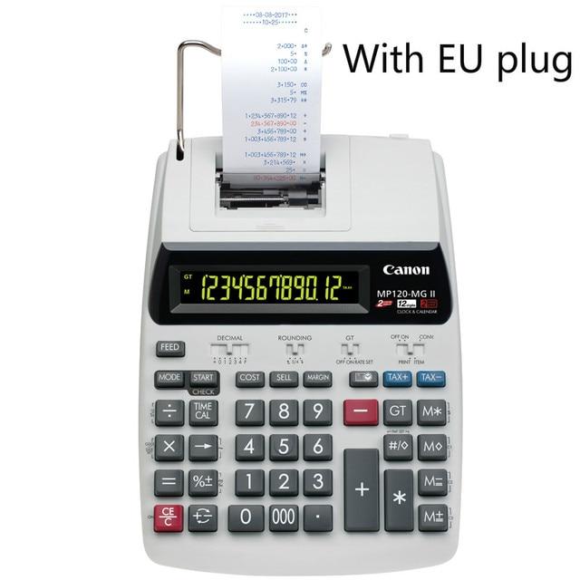 Drukuj kalkulator MP 120MG drukuj Adder biznes komputer biurowy kalkulator Calculadoras Calculadora