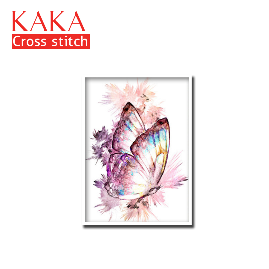 Cross Stitch Kits,Embroidery Needlework Sets With Printed Pattern,11CT-canvas For Home Decor Painting,DMC Animals CKA0064