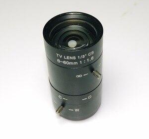 Image 1 - 6 60mm Objektiv MegaPixel 68 8 Grad MTV CS Mount Infrarot Nachtsicht Manuelle Zoom Objektiv Für CCTV Sicherheit Kamera