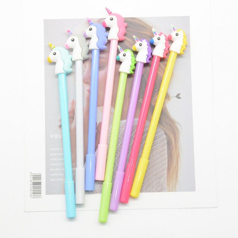 60 Pcs lot gel pen Kawai lapices Creativity caneta Cartoon kalem canetas pens cute stationery boligrafo
