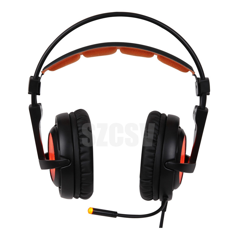 Sades A6 Gaming Headphones 7.1 Surround Sound Stereo USB Game Headset with Microphone Breathing LED Lights for PC Gamer (4)