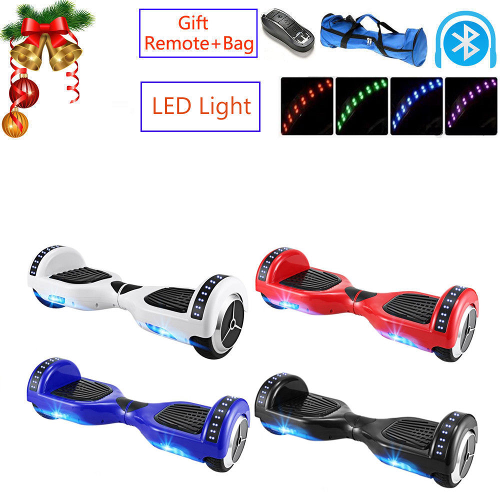 Ship From Netherlands ! Bluetooth LED Smart Self Balancing Electric Scooter Skate