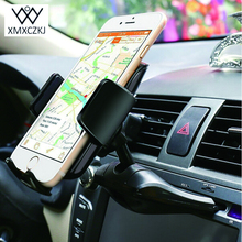 XMXCZKJ Universal 360 Degrees Car Cd Slot Holder ABS Mount Phone Stand For Mobile Iphone 6 6s 7 Samsung  Xiaomi