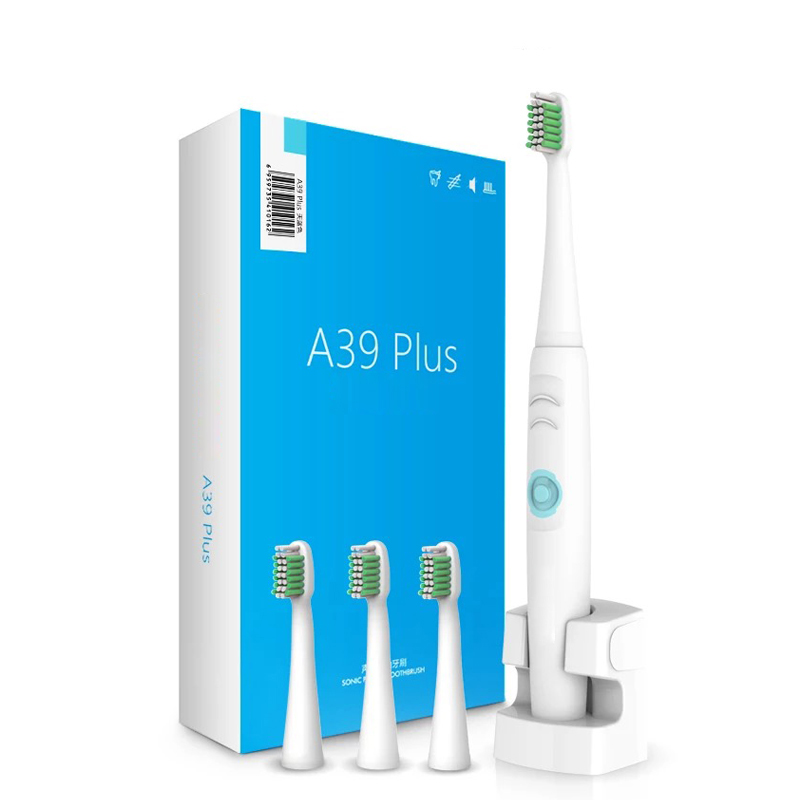 Image 5 - Lansung Sonic Electric Toothbrush Ultrasonic Deep Rechargeable Adult Toothbrush Heads Replaceable Whitening Waterproof Smart-in Electric Toothbrushes from Home Appliances