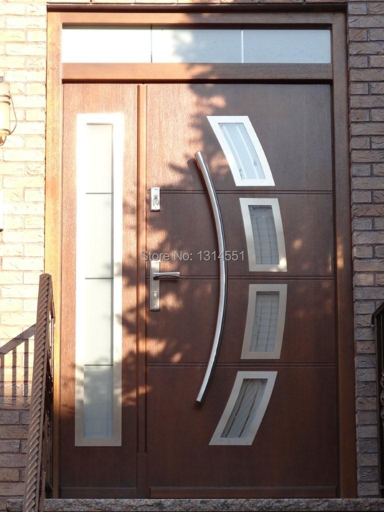 Arch Shaped 32 Inches 800mm Modern Stainless Steel