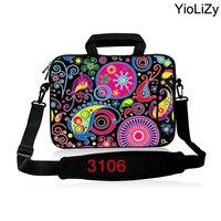 Bolsa de ombro Laptop Caso tablet 9.7 11.6 13.3 14.1 15.6 17.3 saco de manga Notebook polegadas maleta Para Asus Acer HP Lenovo Dell SB-3016