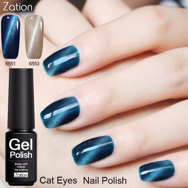 Zation Gel Uv Colorl Primer Magnet Nail Gel Lacquer Gel Polish Color ...
