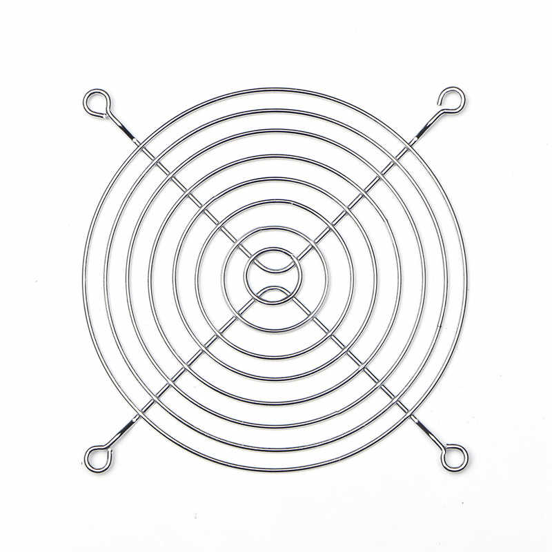 Impressora DuoWeiSi 3D 12 cm tampa de proteção do ventilador tampa do ventilador tampa cerca de Metal grade De Metal (ferro) chapeamento tampa do ventilador para 12025 12015 120