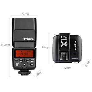Image 3 - Godox TT350F 2.4G HSS TTL GN36 Flash Speedlite + X1T F Trigger Trasmettitore Kit per Fuji X Pro2/X T20/ x T1/X T2