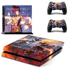 Game Darksiders 3 PS4 Skin Sticker Decal Vinyl for Sony Playstation 4 Console and Controller PS4 Skin Sticker z33 light design protector skin decal sticker for ps3 playstation 3 body console